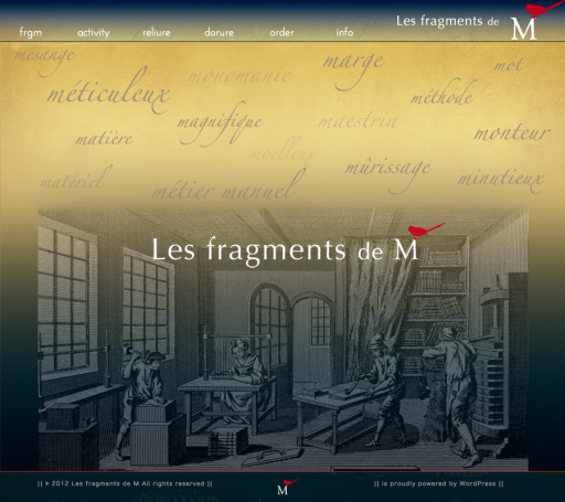 Les fragments de M HP Top